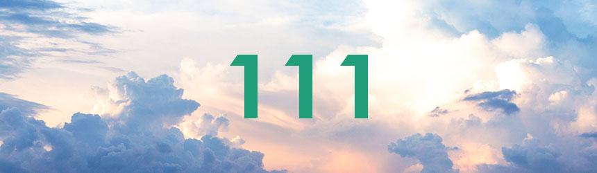 nombre 111 signification et symbolique