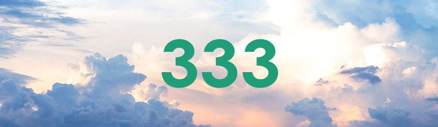 nombre 333 signification et symbolique