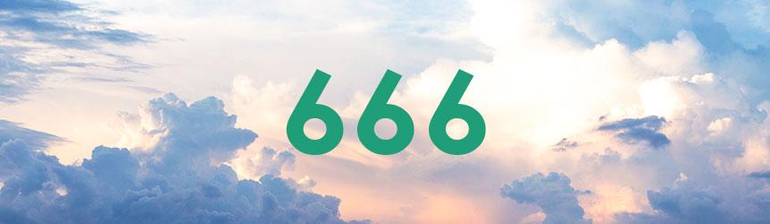 nombre 666 signification et symbolique