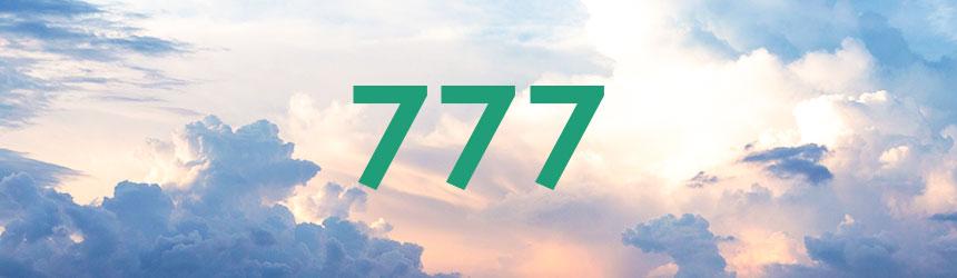 nombre 777 signification et symbolique
