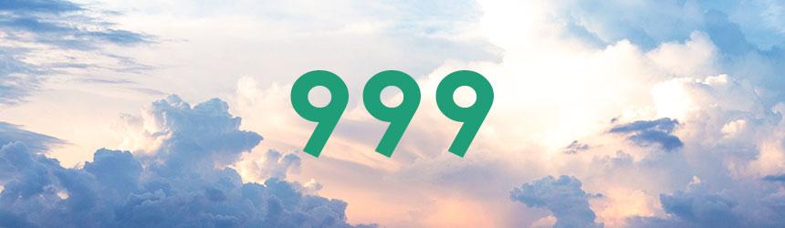 nombre 999 signification et symbolique